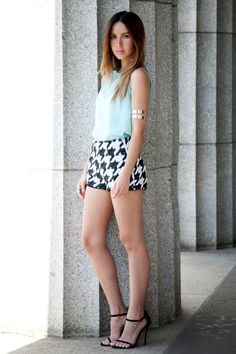 Manning Cartell houndstooth shorts on Friend in Fashion