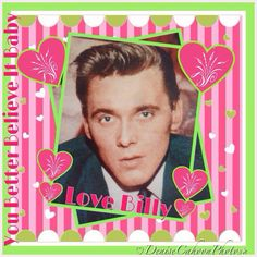 Billy Fury - Hi, Come and join us all on Facebook:The Ultimate Billy Fury - BILLY FURY SONGS - Friends of Billy Fury - Billy Fury Photo Album - also The Two Fan Clubs:Billy Fury In Thoughts of You and The Sound of Fury.