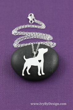 SALE - Jack Russell Terrier Dog Necklace - Jack Russell Jewelry - Custom Dog Necklace - Dog Pendant - Pet Jewelry - Personalized Dogs by IvyByDesign on Etsy https://www.etsy.com/listing/250269038/sale-jack-russell-terrier-dog-necklace
