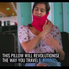 Easy Comfort Travel Neck Pillow - Life Hacks That Will Change Your Life Life Hacks, Suitcase Packing, Packing Lists, Neck Pillow Travel, Cool Inventions, Head And Neck, Vacation Places, Things To Buy, Travel Tips