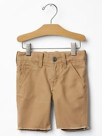 Canvas carpenter shorts