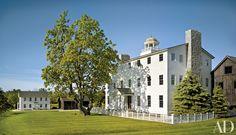 Shaker-inspired mansion in Michigan