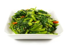 chinese side dishes recipe | Asian Chinese Cooking Style Stir Fry Vegetable Dish on White Plate