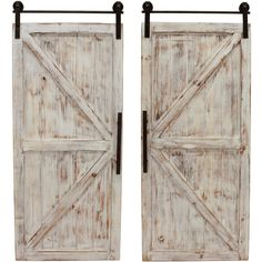 FirsTime FirsTime and Co.® Carriage House Barn Door Wall Plaque Set at Lowe's. Wall decor is a great way to express your personal style within your home. Bring home a favorite farmhouse style with the FirsTime and Co. Country Wall Decor, Wall Decor Set, Rustic Wall Decor, Shutter Wall Decor, Barn Door Window, Door Wall, Barn Doors, Sliding Doors, Garage Doors