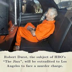 The Los Angeles County district attorney's office recently revealed that it had reached a deal with Robert Durst's attorneys to have him extradited from New Orleans by August 18. Durst will face a murder charge in connection with the death of his writer friend Susan Berman. Earlier this year Durst drew national attention as the subject of the HBO documentary series The Jinx which explored the disappearance of his wife in 1982 and the murder of Berman in 2000. The series ends with Durst…