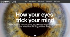 How your eyes trick your mind, BBC Future
