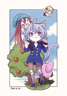 Neferpitou and kite Hunter x Hunter