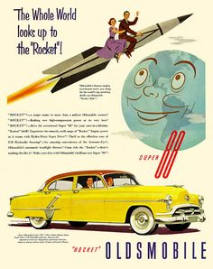 And another awesome Olds Rocket advert...