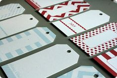 christmas goodies week: gift tags. These are free with an email sign up and they are adorable!