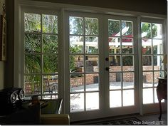 Replace windows with French Doors. This is just what we're talking about doing!