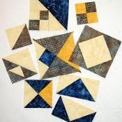 Mystery Quilt 2013 Clue #6 and Reveal - via @Craftsy