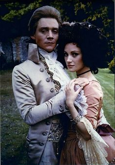 Anthony Andrews and Jane Seymour in the Scarlet Pimpernel