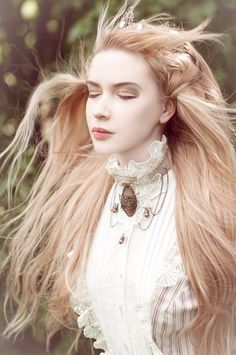 Steampunk Victorian Jewelry Set, Collar Choker, Lace Bracelets, Butterfly Lace…