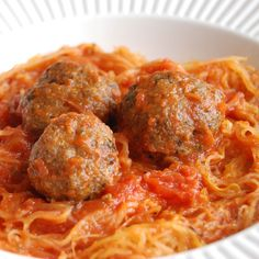 """Turkey Pesto Meatballs- awesome as an appetizer or with """"pasta""""."""