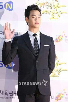 Kim soo hyun @ korean popular culture art award
