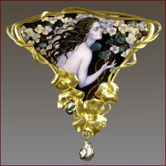 Larissa Podgoretz enamel jewelry