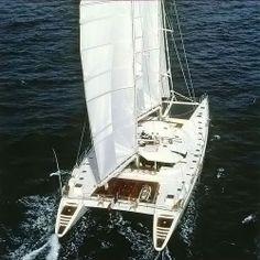 Who wants to go to Tahiti? Sailing Catamaran, Sailing Ships, Sunreef Yachts, Yacht Vacations, Sailing Adventures, Sail Away, Motor Boats, Luxury Yachts, South Pacific