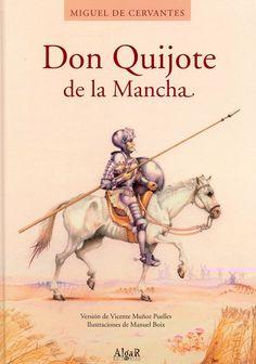 Don Quijote de la Mancha es el libro Ana es lee en el clase de español. Ella pensaba el libro es muy difícil porque es en espoñol. Tilting At Windmills, Don Quixote, Fiction Books, The Fool, Free Books, Romances, Knight, Divine Mercy, Romance