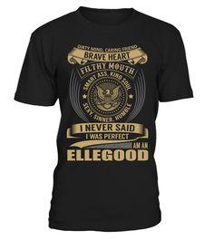 ELLEGOOD - I Nerver Said