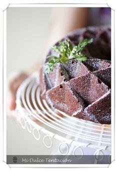 Mi dulce tentación: Bundt Cake de Chocolate