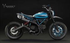 Custom Gannet Tracker Ducati Scrambler - Ducati Scrambler Forum