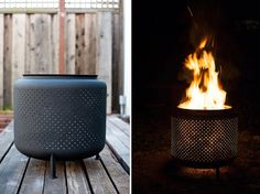 From green to green: DIY Upcycled Firepit