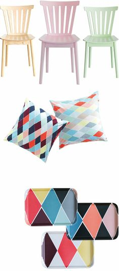 New funky and colourful limited collection at IKEA: BRÅKIG Kollektion
