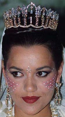Tiara Mania: Princess Lalla Hasna of Morocco's Diamond Arch Tiara