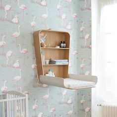 Changing Table NOGA from Charlie Crane in Gentle White