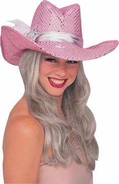 Pinkki Cowboyhattu