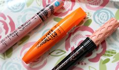 My hero products - Rimmel Scandaleyes is amazing for volume, whereas Benefit's Roller Lash defines and separates lashes amazingly well!
