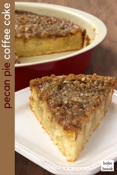 The Highest Three Chicory Espresso Manufacturers - Include A Novel Taste On Your Cup Of Joe Pecan Pie Coffee Cake Is A Delicious Cake With A Layer Of Pecan Pie Filling Right On Top - Bake Or Break Baking Recipes, Cake Recipes, Dessert Recipes, Dessert Bread, Bread Recipes, Food Cakes, Cupcake Cakes, Cupcakes, Bundt Cakes