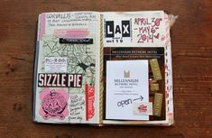 besottment by paper relics: 2014 Souvenir Journal: Los Angeles, California