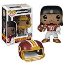 Pop! Vinyl NFL Robert Griffin III Wave 1 Pop! Vinyl Figure Washington Redskins quarterback and former Baylor University standout Robert Griffin III stands 3 3/4-inches tall in Pop! Vinyl Format and comes packaged in a window display box. RG III sports a NFL b http://www.MightGet.com/january-2017-11/pop!-vinyl-nfl-robert-griffin-iii-wave-1-pop!-vinyl-figure.asp