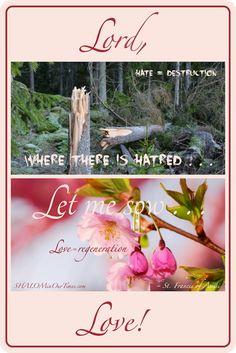 Let me sow love!