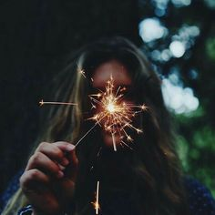 I'll watch the sparks fly and burn at the same time!