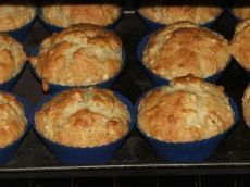 Muffins aux bananes et aux pommes