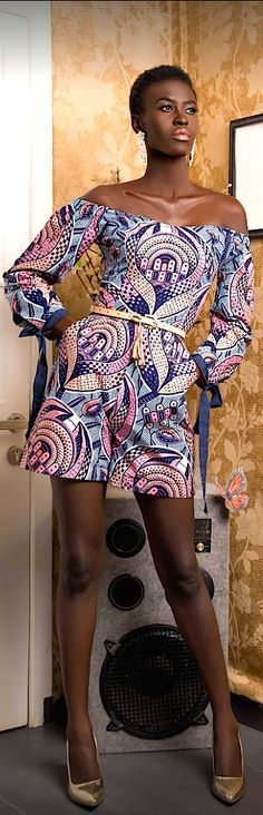 VLISCO X Efuastanzz : Ghana. African Outfits, African Clothes, African Wear, African Women, African Dress, African Fashion, Afro Style, Summer Outfits, Summer Dresses