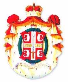 Grb Obrenovića - Serbia