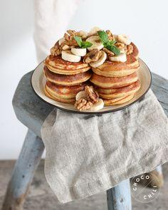 Vegan Breakfast Recipes, Vegan Desserts, Brunch Recipes, Sweet Recipes, Pesco Vegetarian, Vegan Vegetarian, Vegetarian Recipes, Vegan Food, Something Sweet