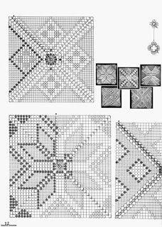 crochet motifs squares for blanket Magic Crochet nº 17 - leila tk Image gallery – Page 357543657889819081 – Artofit Crochet Pillow Cases, Crochet Bedspread, Crochet Cushions, Crochet Curtains, Crochet Tablecloth, Crochet Doilies, Crochet Motif Patterns, Crochet Diagram, Crochet Squares