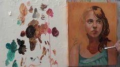 Pintar con veladuras 2. Retrato. Técnica grandes maestros. Curso de pint...