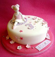 Angelina Ballerina birthday cake by Star Bakery (Liana), via Flickr