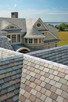 Slate roofing by Sweeney Brothers Construction; Photography by Richard Mandelkorn | Flickr - Photo Sharing!