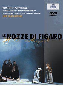 MOZART Le nozze di Figaro - Gardiner DVD - Deutsche Grammophon