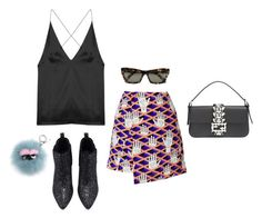 """Monsta"" by ohhiitsnina ❤ liked on Polyvore featuring Dion Lee, Opening Ceremony, Fendi and CÉLINE"