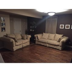 Traditional Taupe Brocade Couch and Loveseat - A Pair For Sale - Image 5 of 5 Small Couch, Couch And Loveseat, Sofa Shop, Love Seat, Taupe, Traditional, 2000s, Furniture, Design