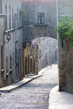 Rodos, Greece - imagine strolling around Rhodes Old Town