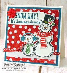 Snow Way - Christmas is on its way!