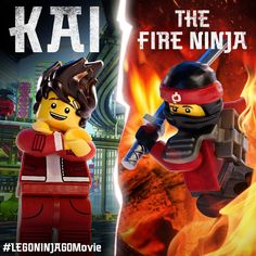Kai brings the heat in #LEGONINJAGOMovie! #LEGO #NINJAGO #LEGONINJAGO #TheLEGOMovie #BeNinja #WarnerBros #EverythingIsAwesome